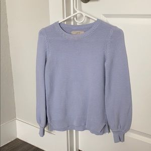 Powder Purple Sweater